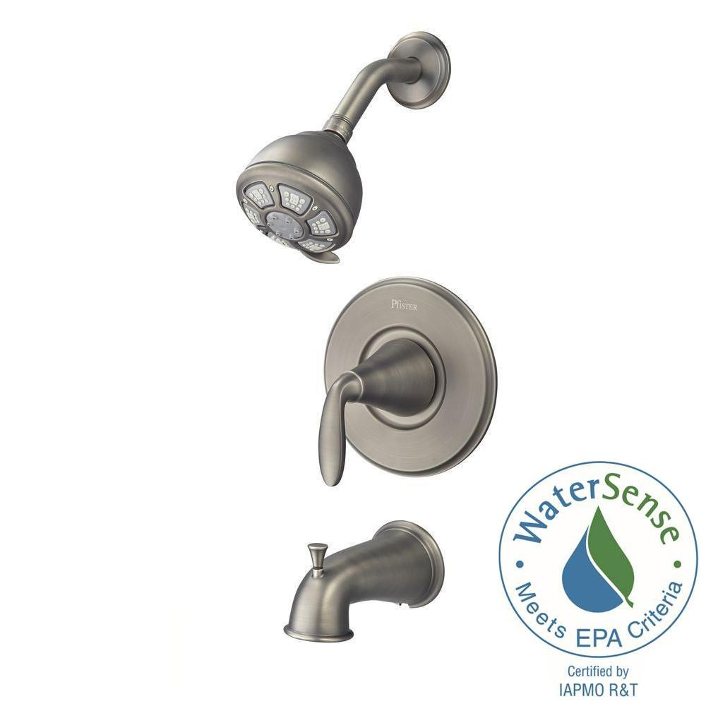 Ideas, pfister pasadena single handle 3 spray tub and shower faucet in inside size 1000 x 1000  .