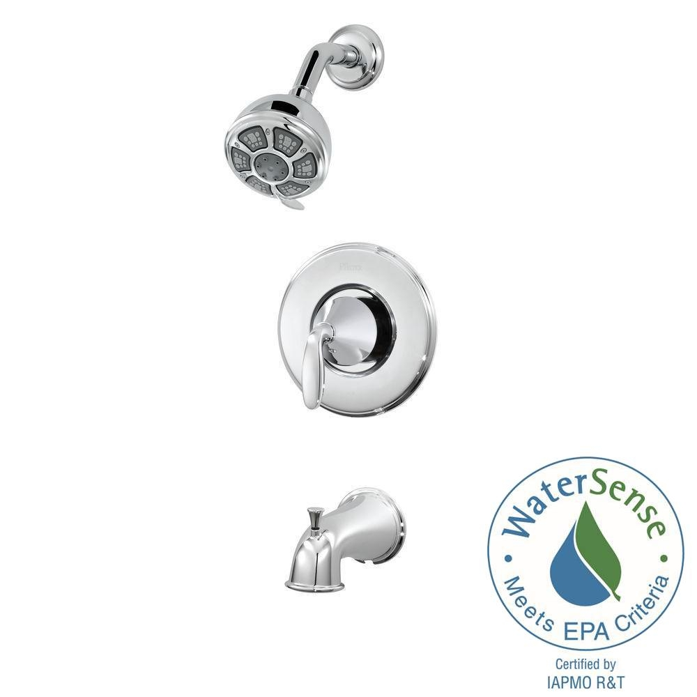 pfister pasadena single handle 3 spray tub and shower faucet in pertaining to size 1000 x 1000
