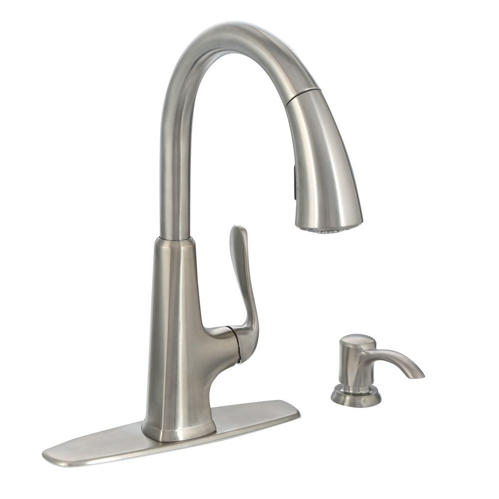 pfister pasadena single handle pull down sprayer kitchen faucet for measurements 1000 x 1000