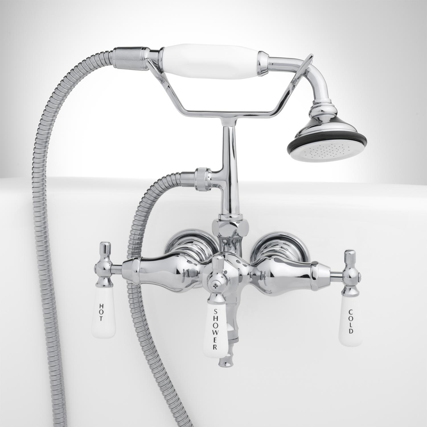 Ideas, porcelain tub shower signature hardware intended for measurements 1500 x 1500  .
