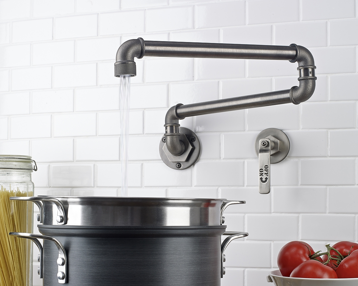 Ideas, pot filler faucet over electric stove pot filler faucet over electric stove learn more about pot filler height the homy design 1200 x 960  .