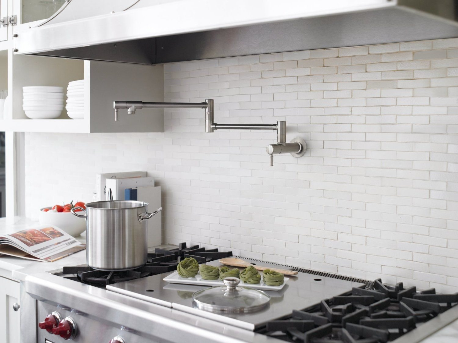 Pot Filler Faucet Above Stove