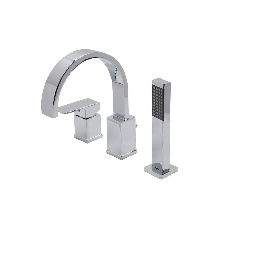 Ideas, pull out sprayer roman tub faucets bathtub faucets the home within dimensions 1000 x 1000  .