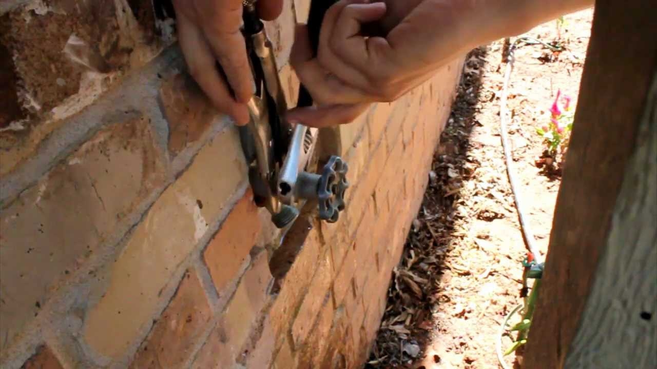 Ideas, repairing an old outdoor faucet repairing an old outdoor faucet repair leaky handle outdoor garden faucet self forming graphite 1280 x 720  .