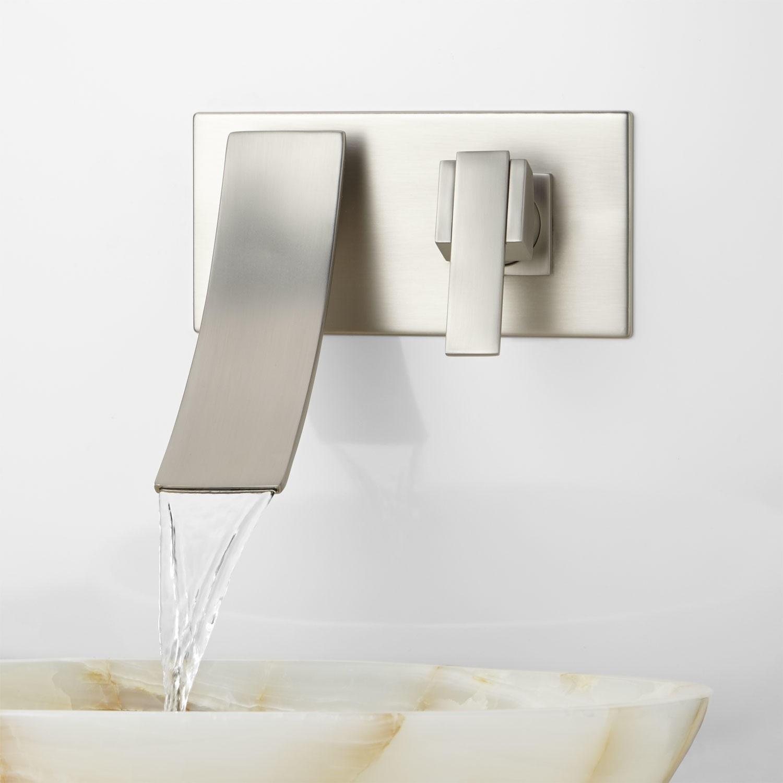 Ideas, reston wall mount waterfall bathroom faucet bathroom inside measurements 1500 x 1500  .