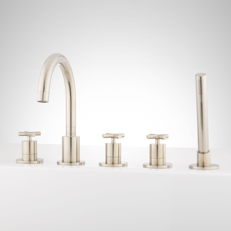 Ideas, roman tub faucets garden tub faucets signature hardware inside proportions 1500 x 1500  .