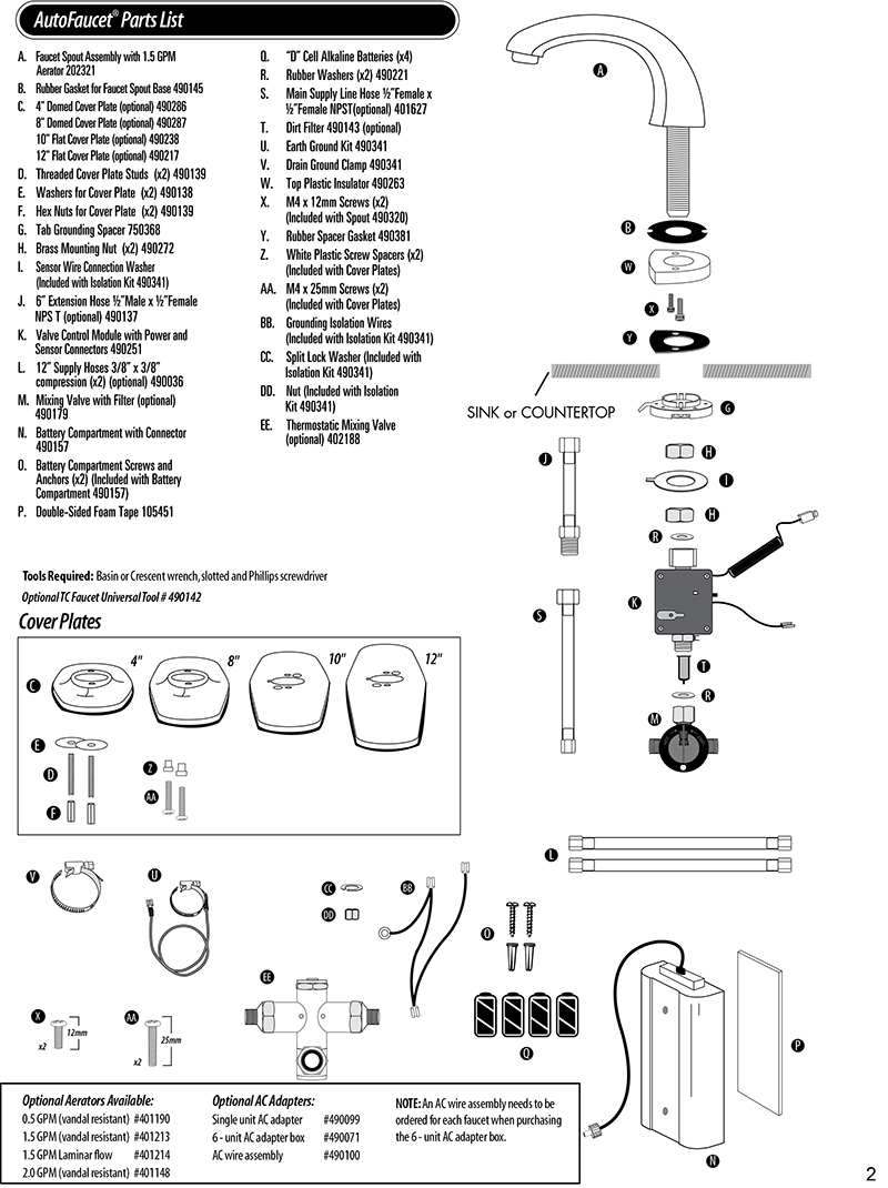 Ideas, rubbermaid technical concepts sst automatic faucet parts janisan with regard to measurements 800 x 1070  .
