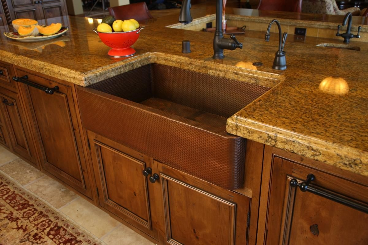 Ideas, rustic kitchen sink faucets rustic kitchen sink faucets rustic kitchen designed with wooden cabinets and countertops 1200 x 800  .
