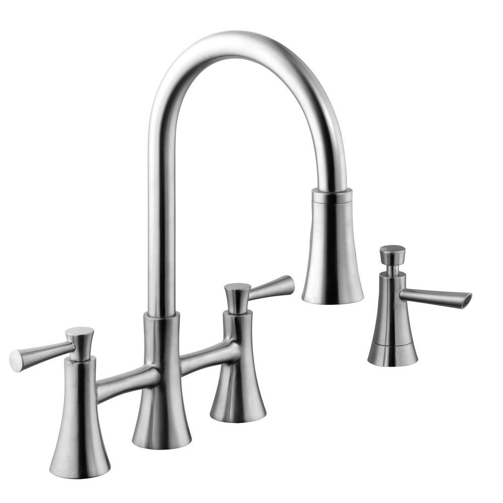 Ideas, schon 925 series 2 handle pull down sprayer kitchen faucet with pertaining to dimensions 1000 x 1000  .