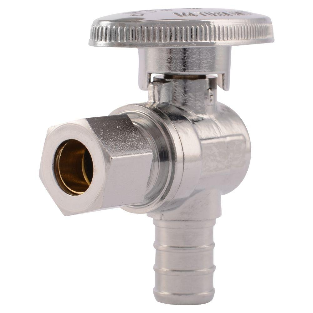 Ideas, sharkbite faucet kit with angle stop sharkbite faucet kit with angle stop sharkbite 12 in chrome plated brass pex barb x 38 in 1000 x 1000  .