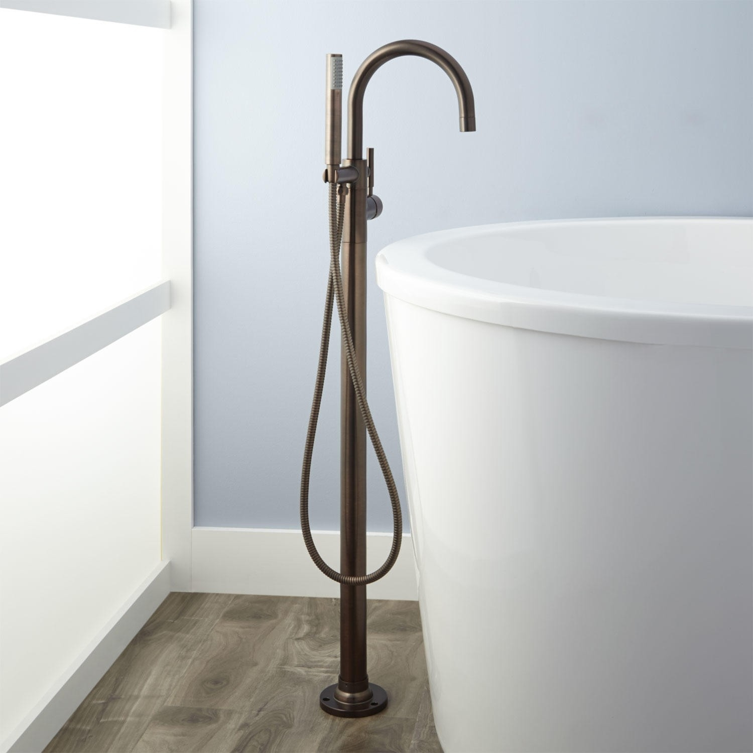 Ideas, simoni freestanding tub faucet and hand shower bathroom within dimensions 1500 x 1500  .