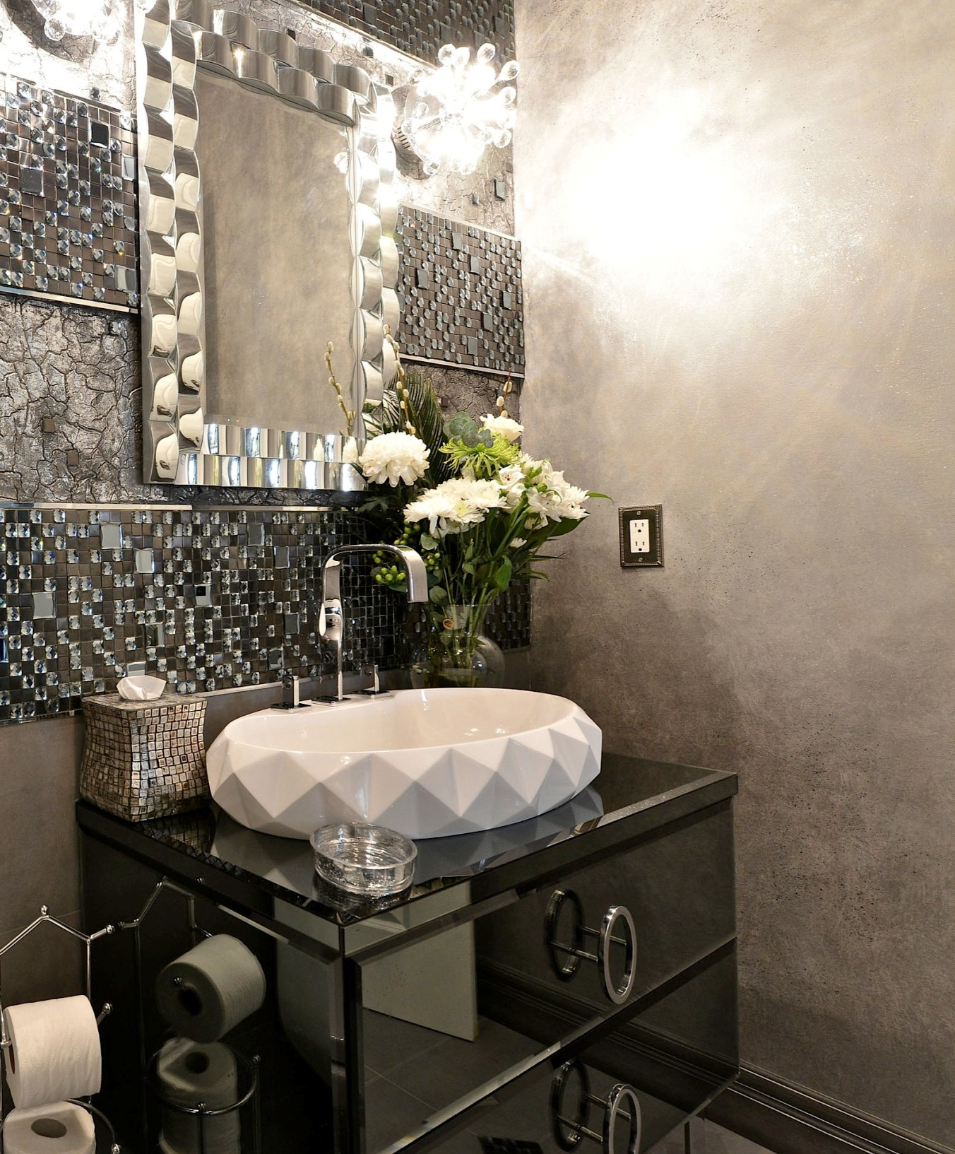 Ideas, small powder room designs homesfeed with regard to dimensions 1352 x 1633  .