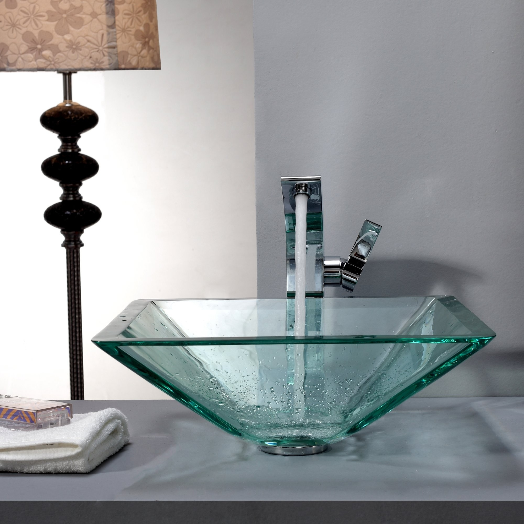 Ideas, square vessel sinks with faucets square vessel sinks with faucets bathroom glass vessel sink and faucet combination kraususa 2000 x 2000  .
