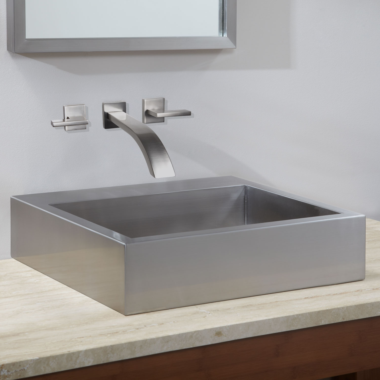 Ideas, square vessel sinks with faucets square vessel sinks with faucets square bathroom sink signature hardware 1500 x 1500  .