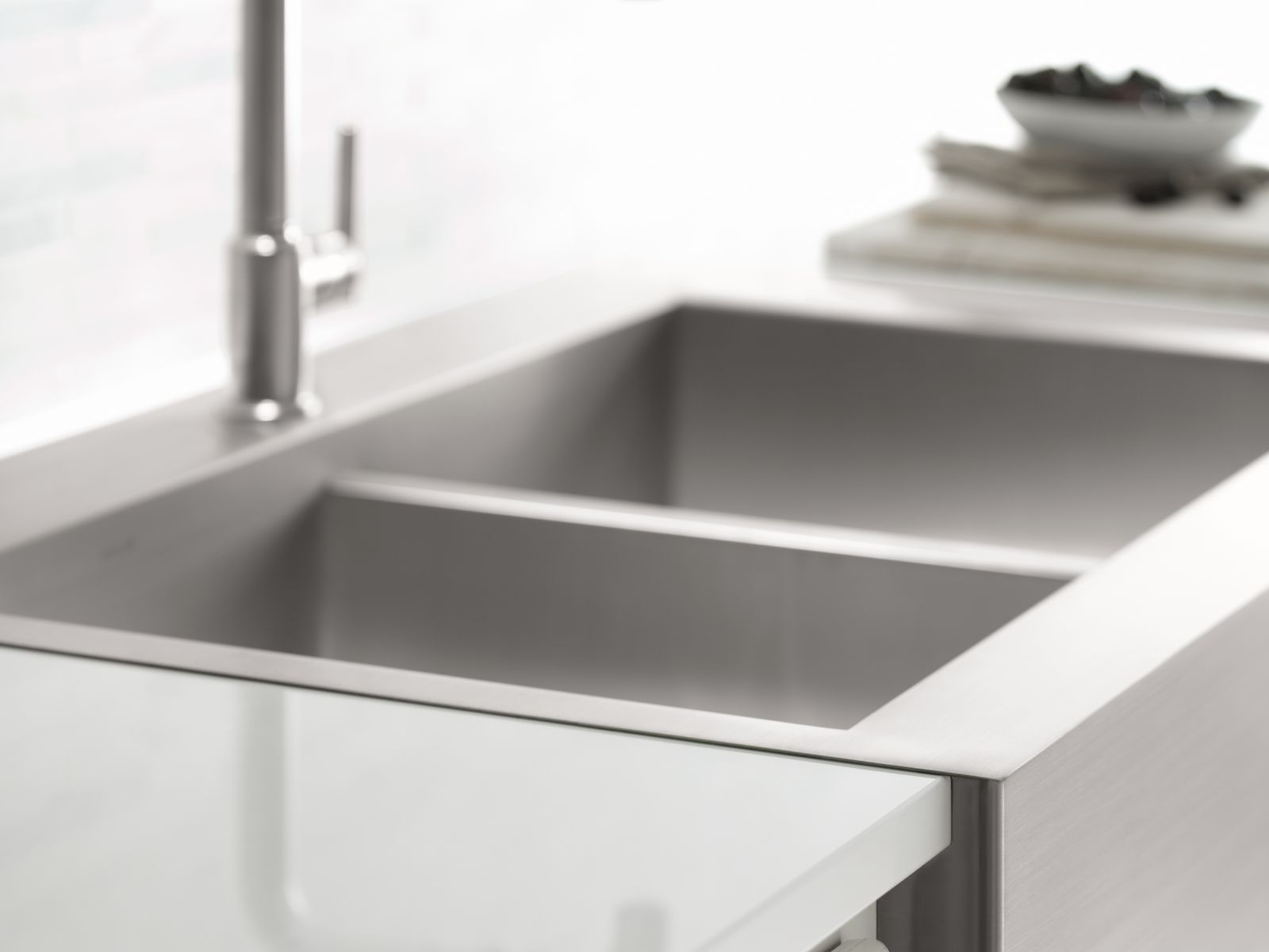Ideas, stainless steel farmhouse sink with faucet holes stainless steel farmhouse sink with faucet holes available from stock the new single bowl geog kitchen sink from 1600 x 1200  .