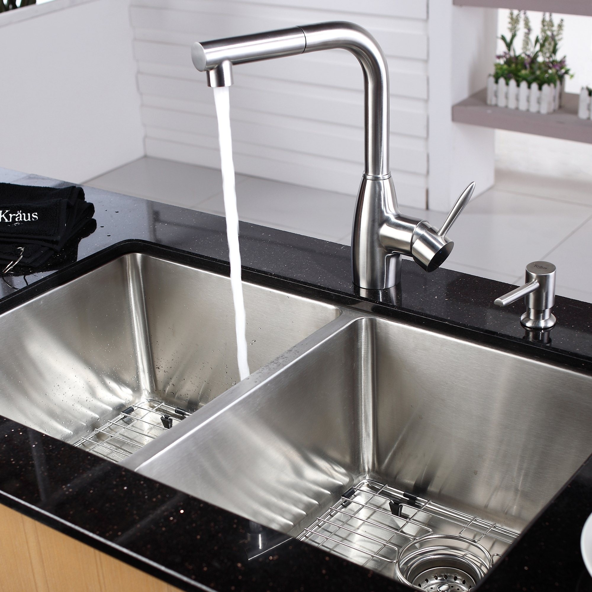Ideas, stainless steel kitchen sink combination kraususa intended for size 2000 x 2000  .