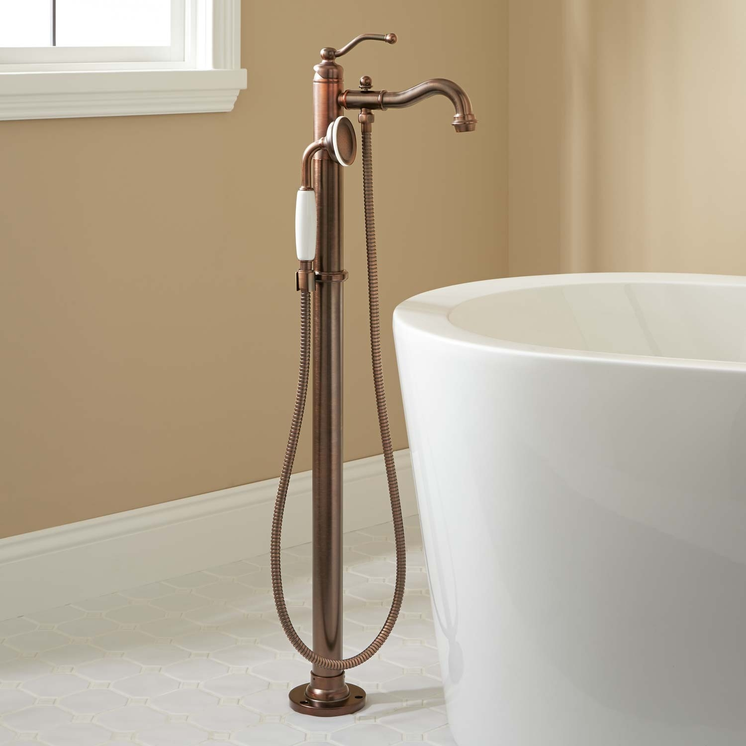 Ideas, stand alone bath faucet stand alone bath faucet leta freestanding tub faucet with hand shower bathroom 1500 x 1500  .