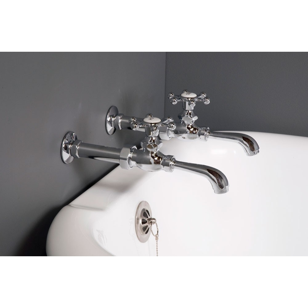 strom plumbing bathroom wall mount clawfoot tub faucet with holder inside size 1000 x 1000