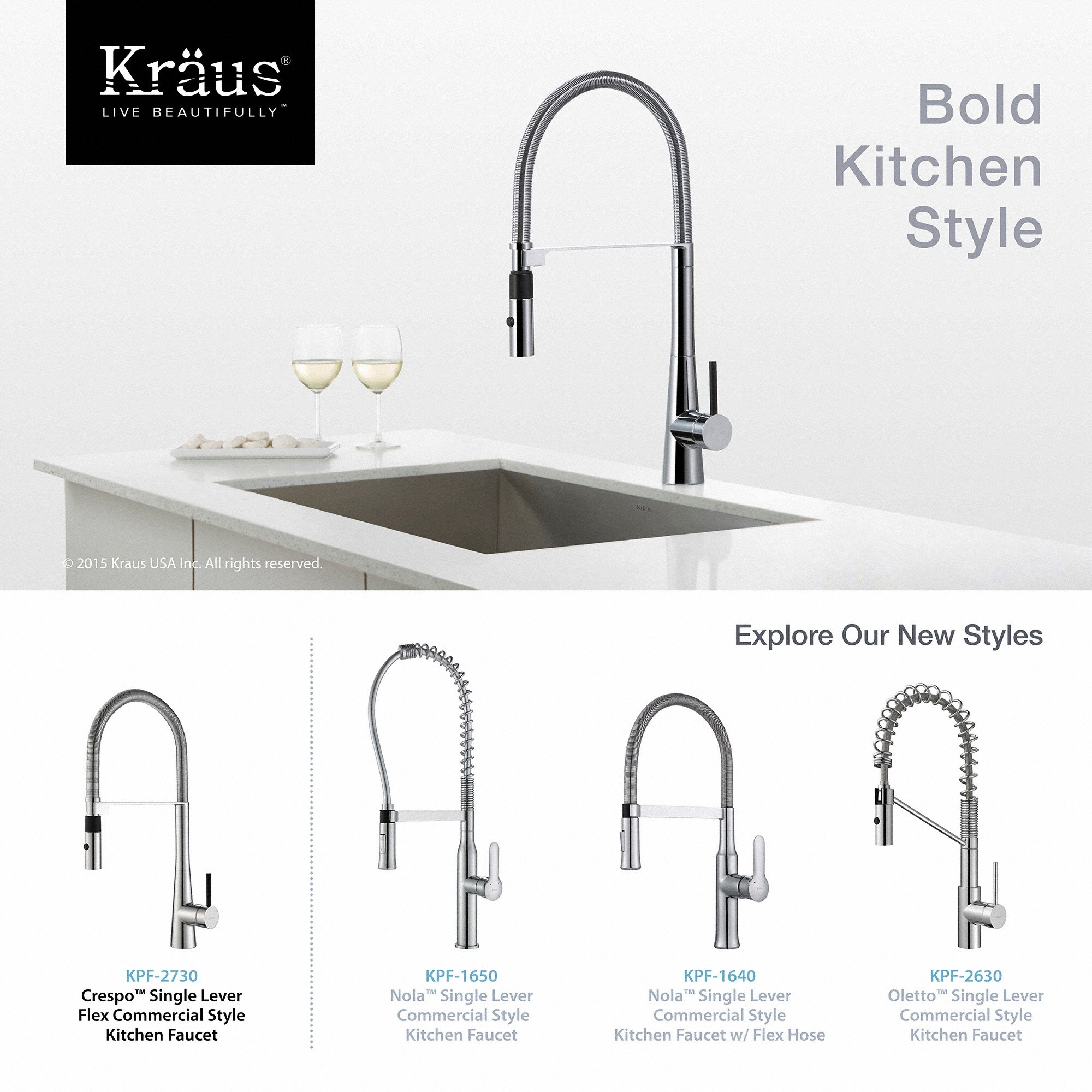 Ideas, styles of kitchen faucets styles of kitchen faucets kitchen faucet kraususa 2000 x 2000  .