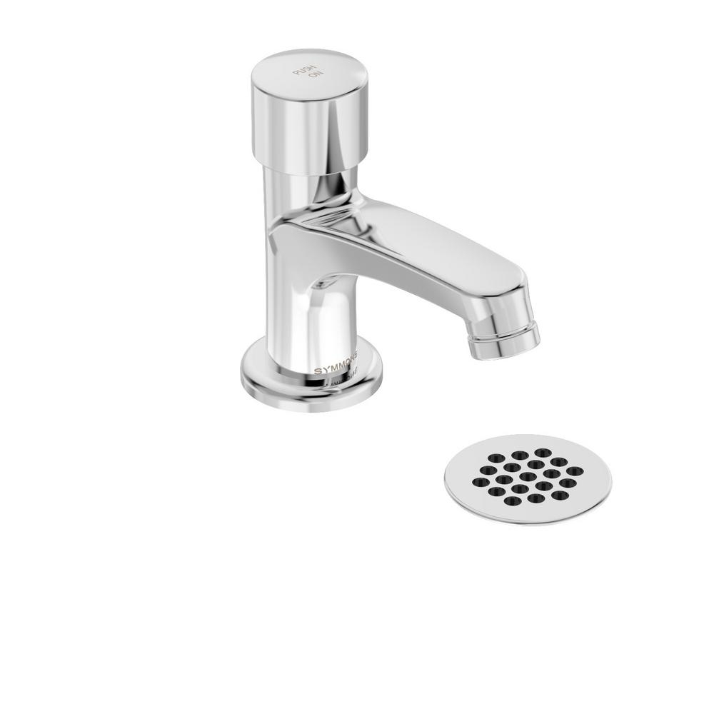 Ideas, symmons scot single hole single handle metering bathroom faucet intended for dimensions 1000 x 1000  .