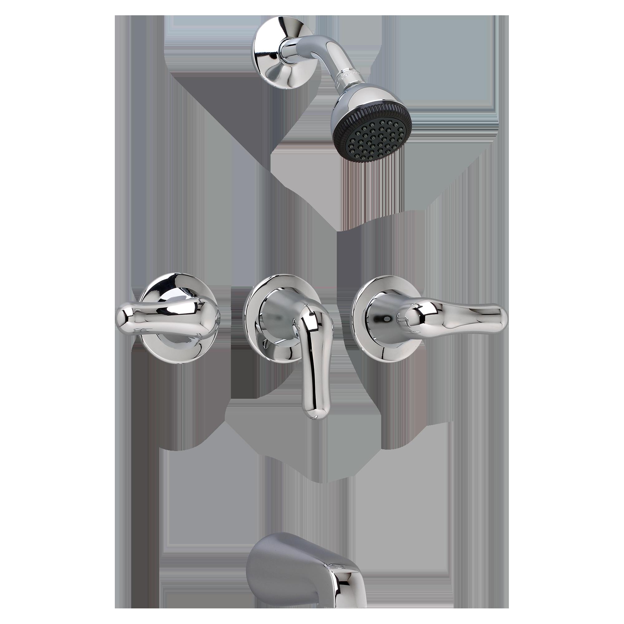 Ideas, three handle bathtub shower faucet three handle bathtub shower faucet colony soft 3 handle bath shower trim kit american standard 2000 x 2000  .