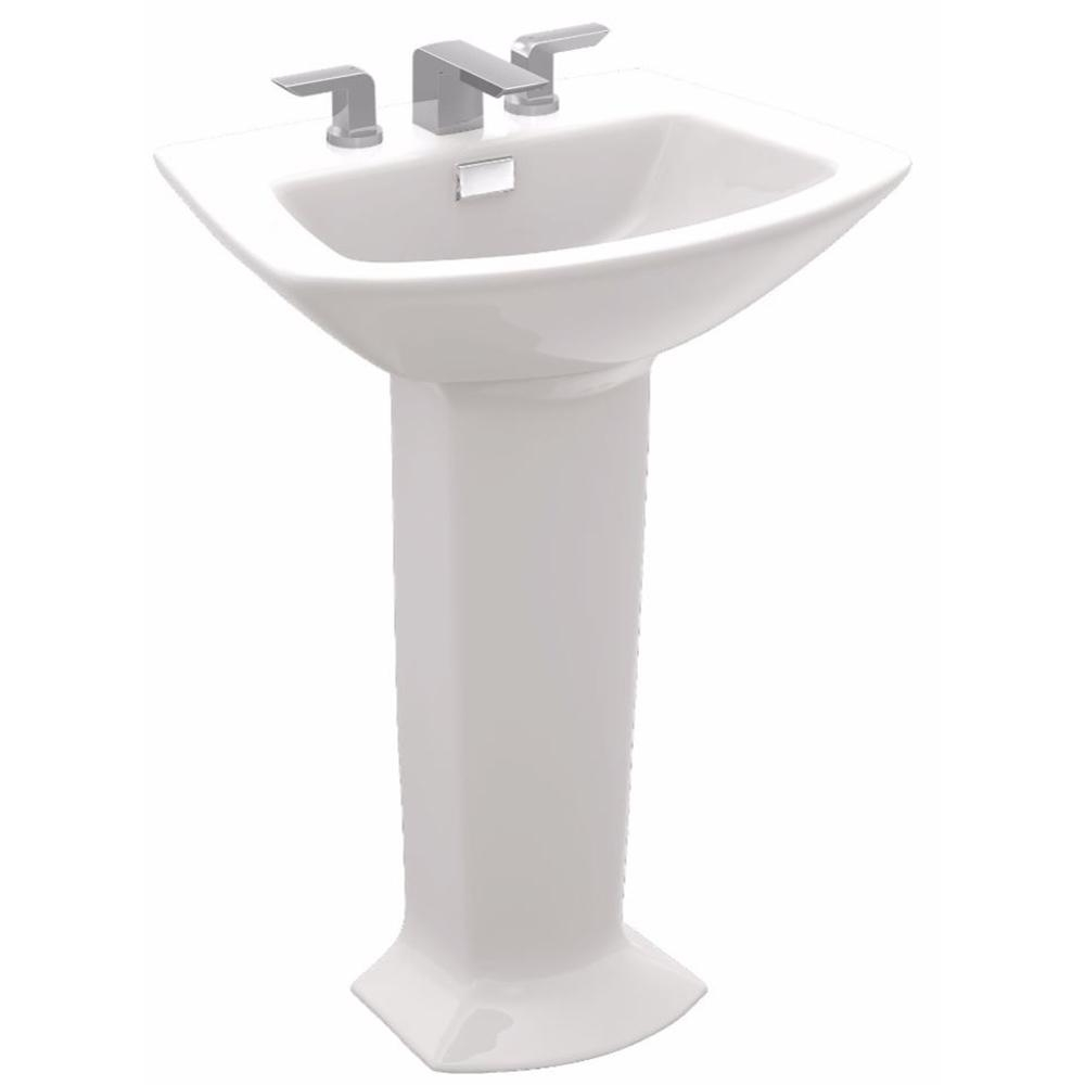 Ideas, toto soiree 30 in pedestal combo bathroom sink with 8 in faucet inside proportions 1000 x 1000  .