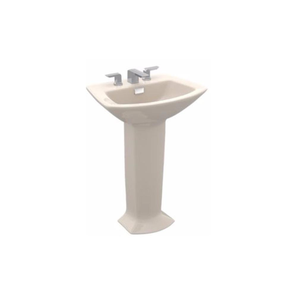 Ideas, toto soiree 30 in pedestal combo bathroom sink with single faucet in size 1000 x 1000  .