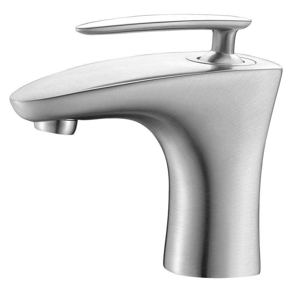 Ideas, toto soiree single hole single handle bathroom faucet in brushed regarding proportions 1000 x 1000  .