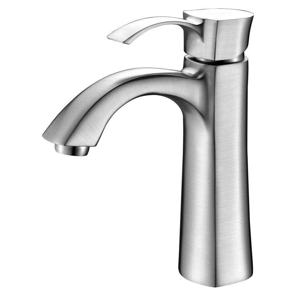 Ideas, toto soiree single hole single handle bathroom faucet in brushed within measurements 1000 x 1000  .