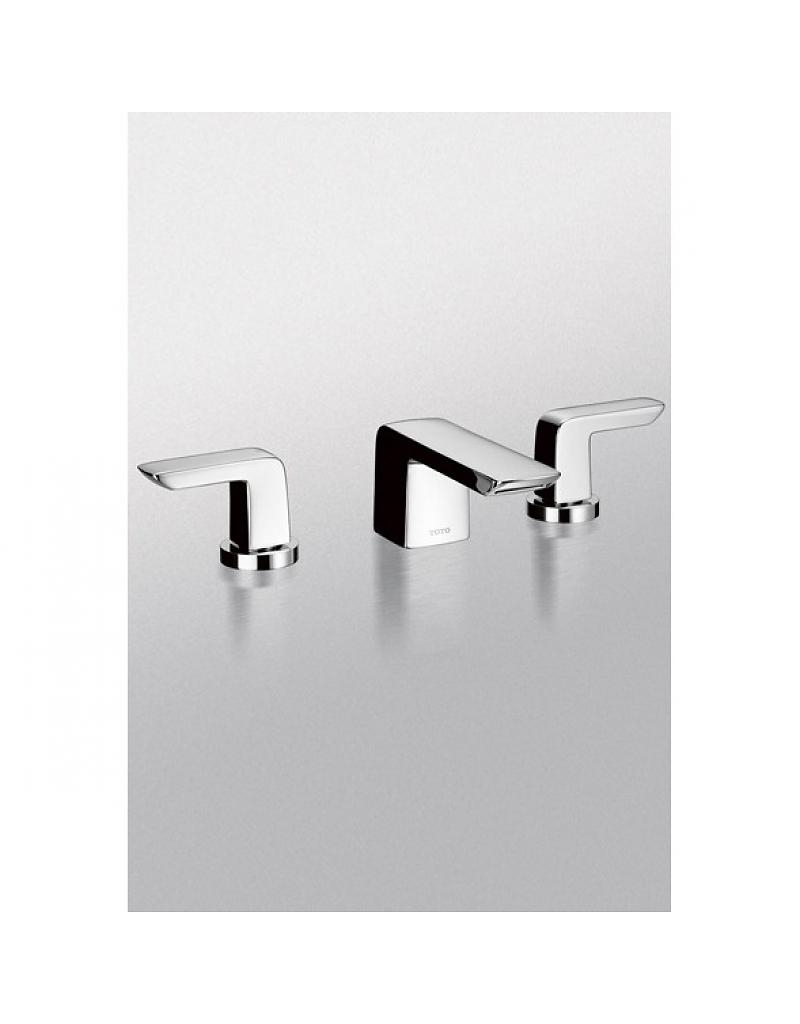 Ideas, toto tl960ddlq soiree widespread lavatory faucet brushed nickel intended for size 800 x 1024  .