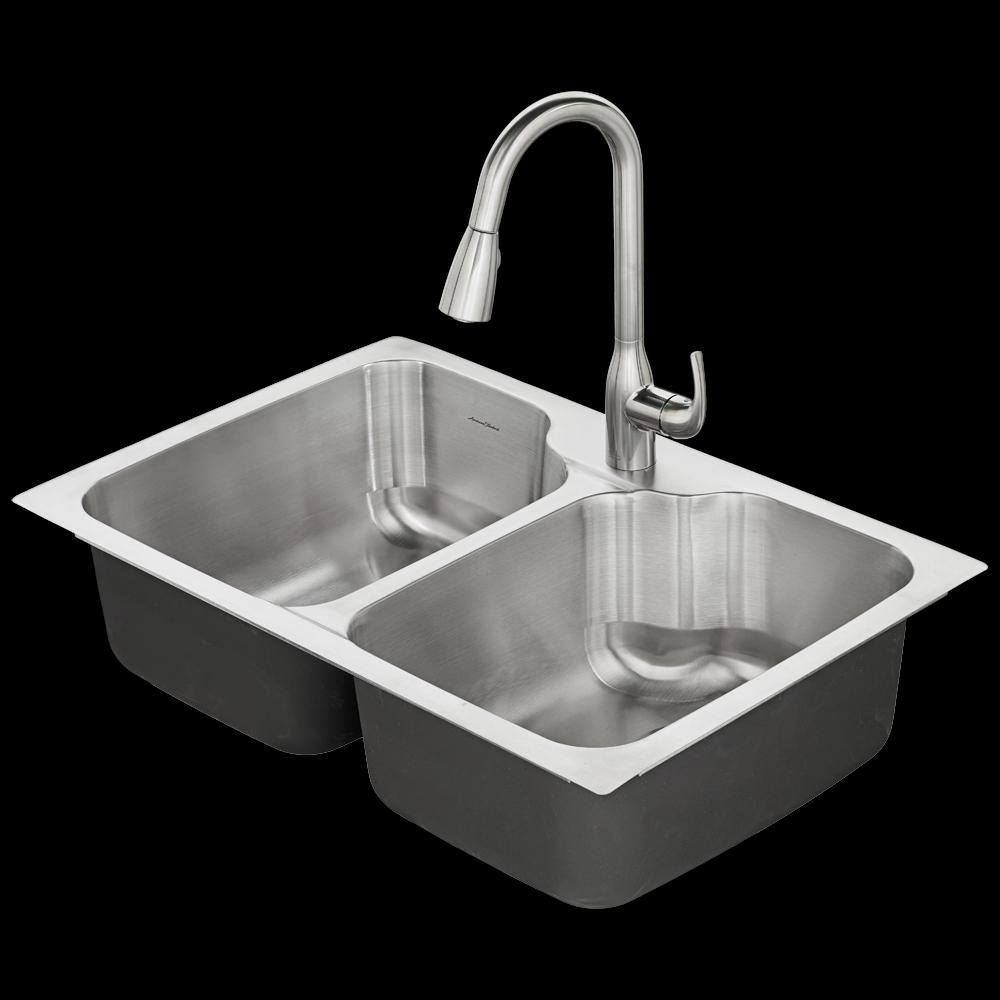 Ideas, tulsa 33x22 kitchen sink kit american standard with dimensions 1000 x 1000  .