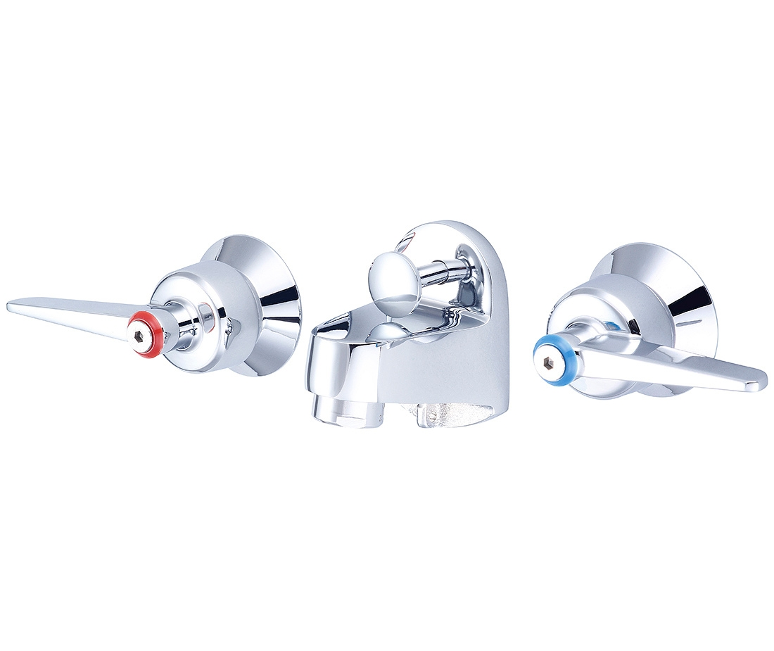 Ideas, two handle shelf back lavatory faucet pioneer industries inc pertaining to measurements 1100 x 925  .