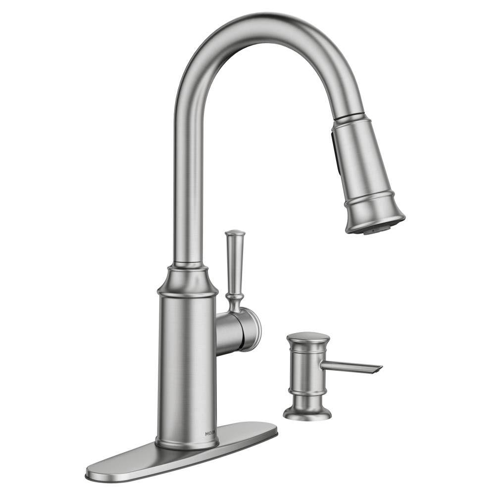 Ideas, types of moen kitchen faucets types of moen kitchen faucets moen glenshire single handle pull down sprayer kitchen faucet with 1000 x 1000  .