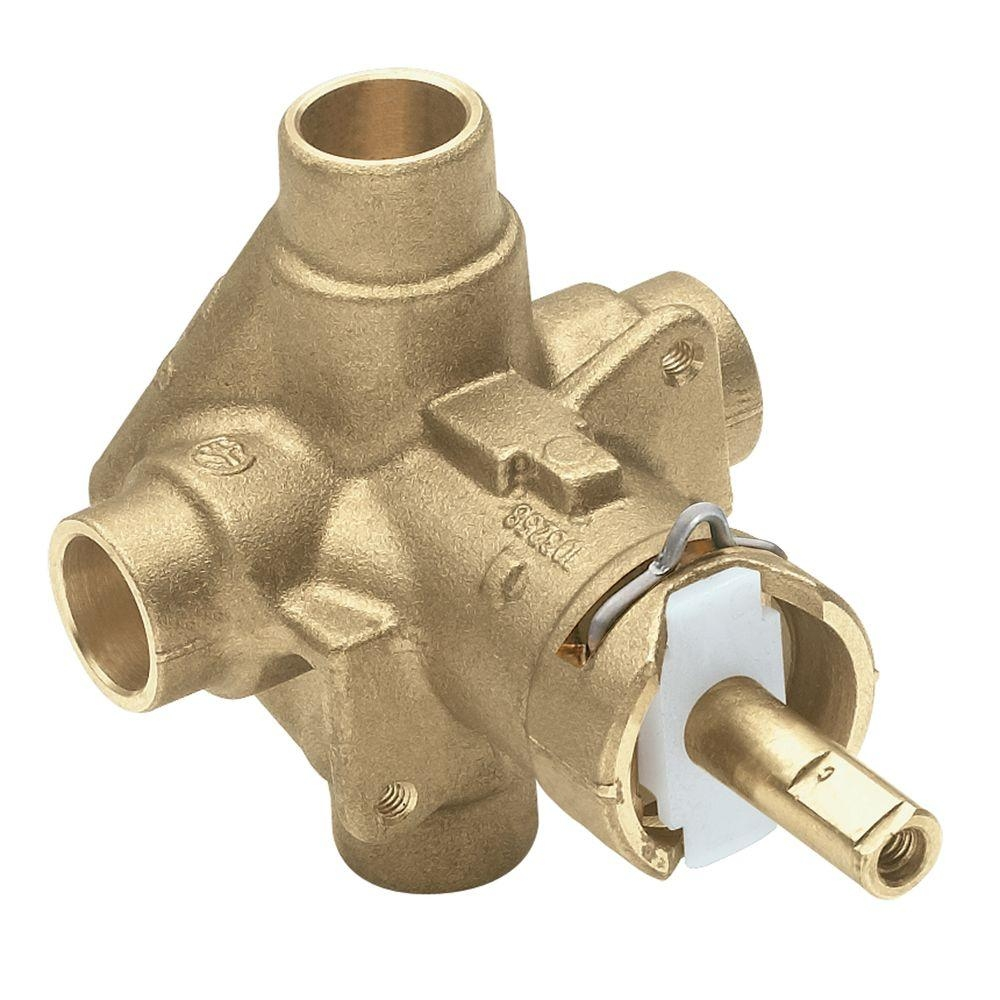 Ideas, types of moen shower faucets types of moen shower faucets moen brass rough in posi temp pressure balancing cycling tub and 1000 x 1000  .