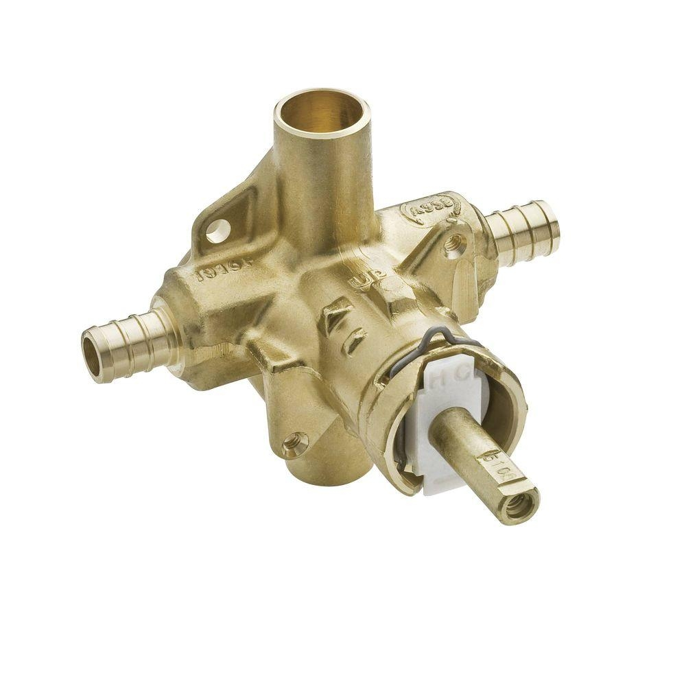 Ideas, types of moen shower faucets types of moen shower faucets moen brass rough in posi temp tub and shower valve 12 in crimp 1000 x 1000  .