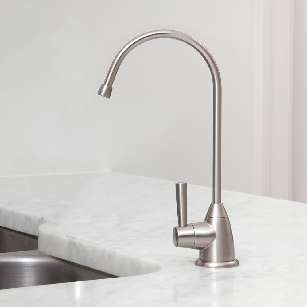 Ideas, under counter water filter with brushed nickel faucet austin springs throughout sizing 1000 x 1000  .