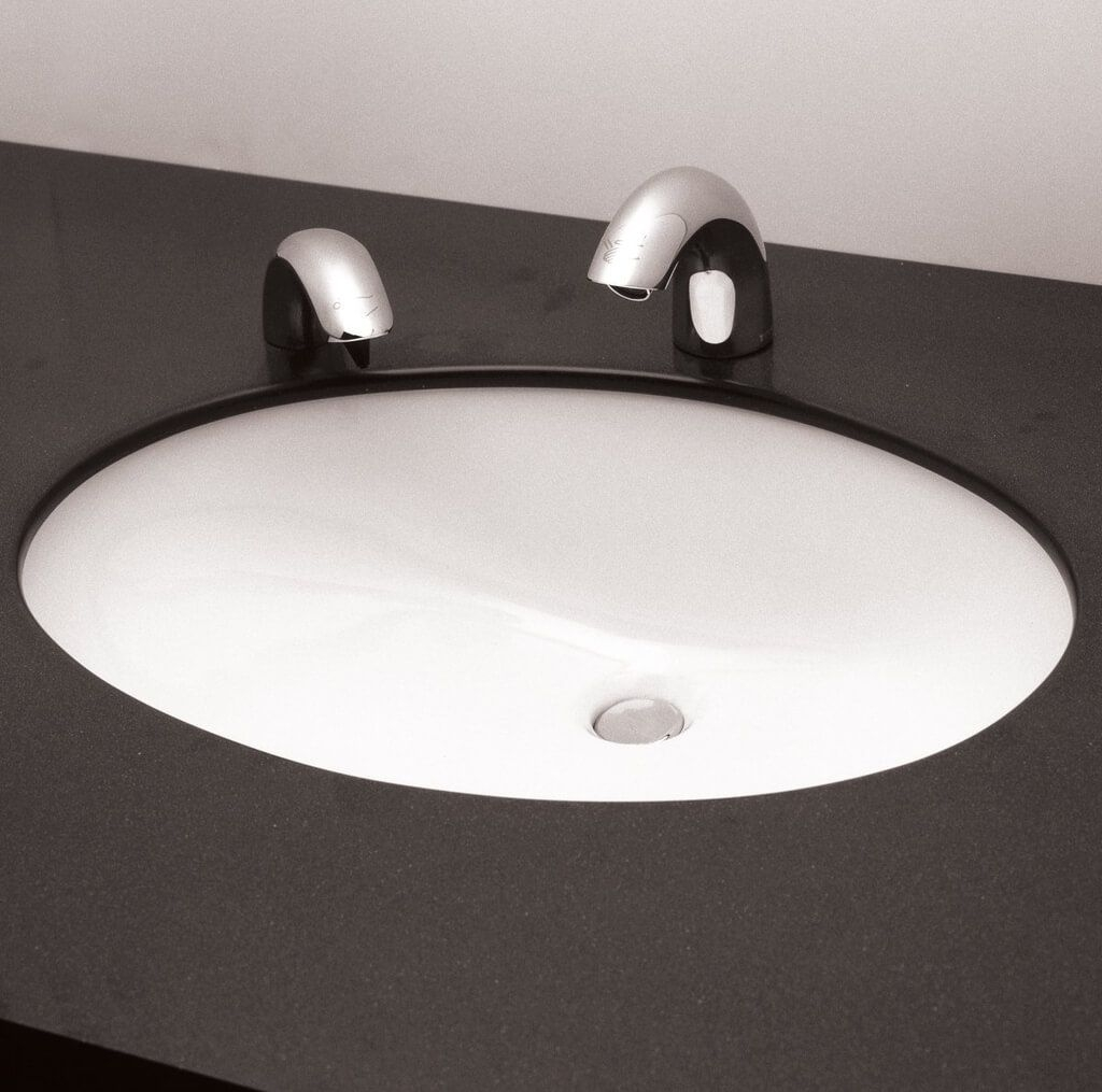 Ideas, undermount bath sink with faucet holes undermount bath sink with faucet holes excellent oval undermount bathroom sinks oval white undermount 1024 x 1015  .