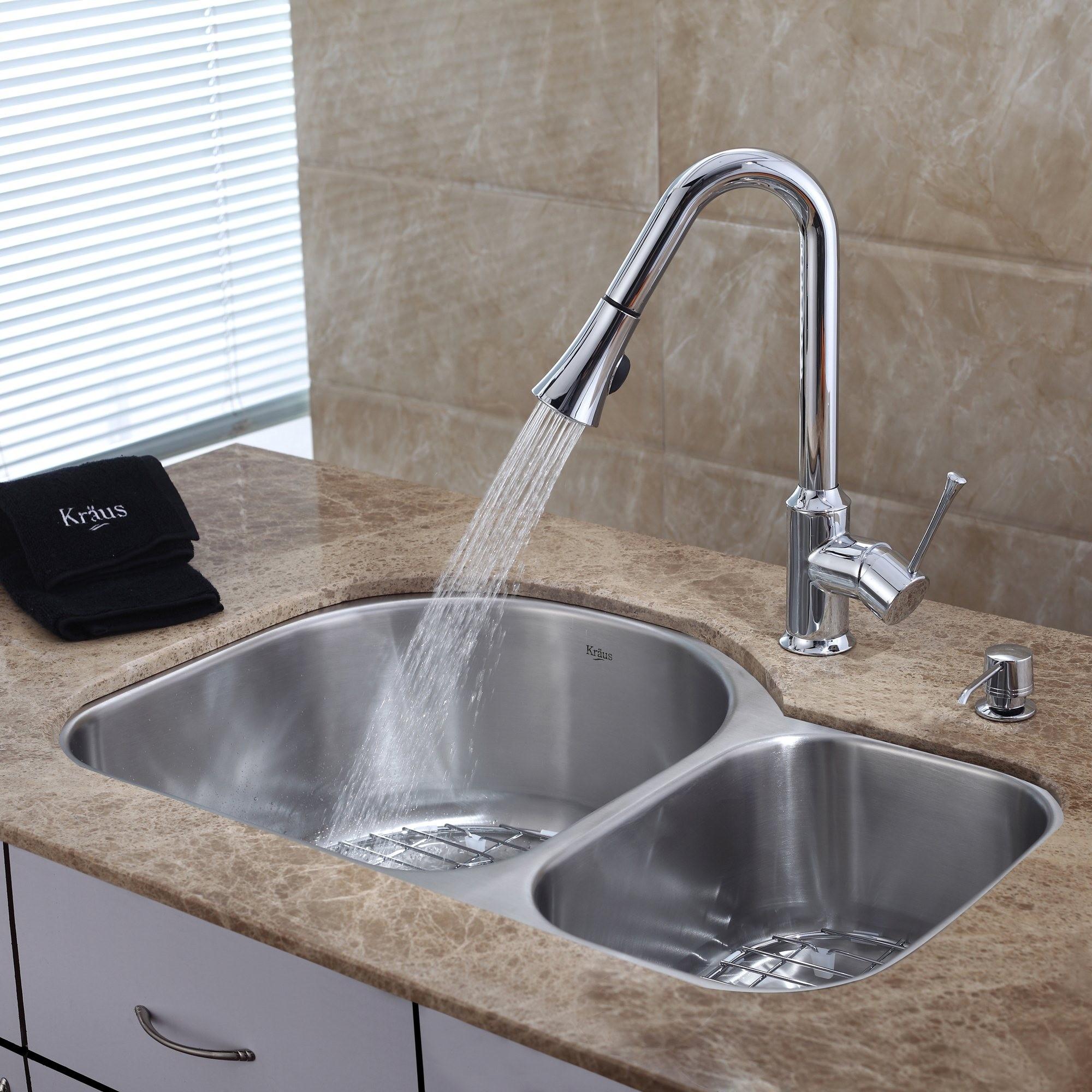 Ideas, undermount kitchen sink and faucet combo undermount kitchen sink and faucet combo stainless steel kitchen sink combination kraususa 2000 x 2000 2  .