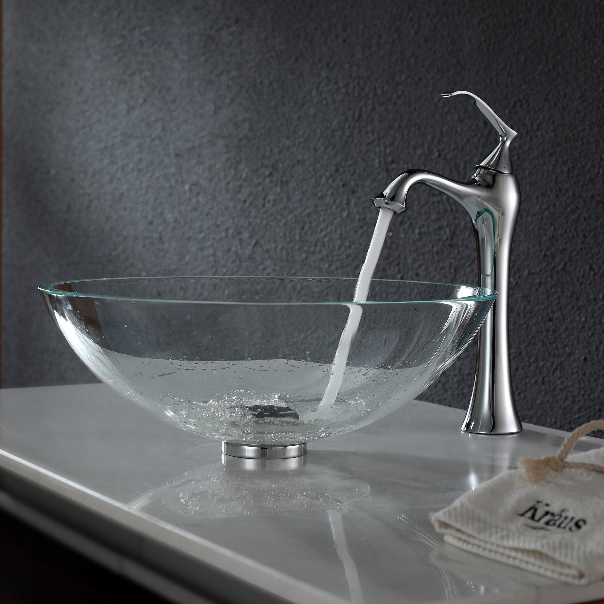 Ideas, vessel sink and faucet combos vessel sink and faucet combos bathroom glass vessel sink and faucet combination kraususa 2000 x 2000 3  .