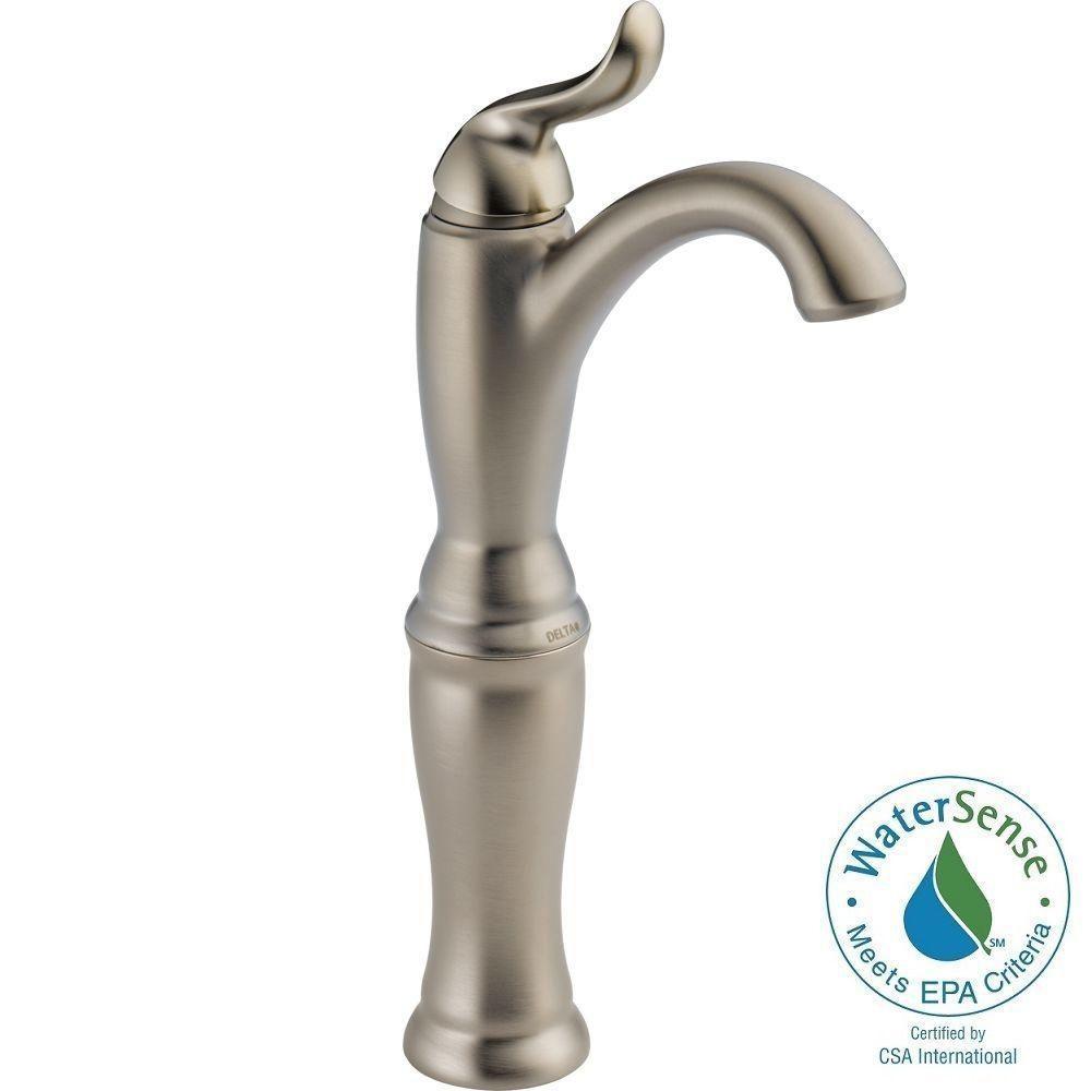 vessel sink faucets delta vessel sink faucets delta delta linden single hole single handle vessel bathroom faucet in 1000 x 1000