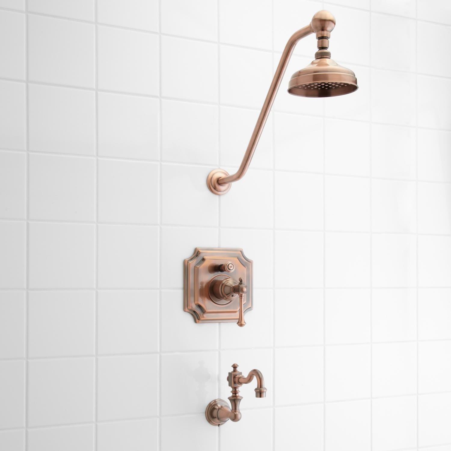 vintage pressure balance tub and shower faucet set with lever intended for dimensions 1500 x 1500