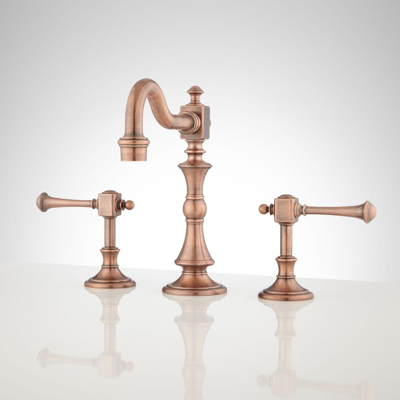 Ideas, vintage widespread bathroom faucet lever handles bathroom sink regarding size 1500 x 1500  .