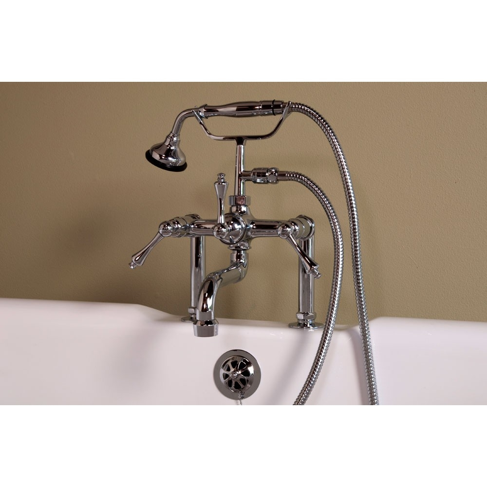 Ideas, wall faucet for clawfoot tub wall faucet for clawfoot tub strom deck mount clawfoot tub faucet p1074c s vintage tub 1000 x 1000  .