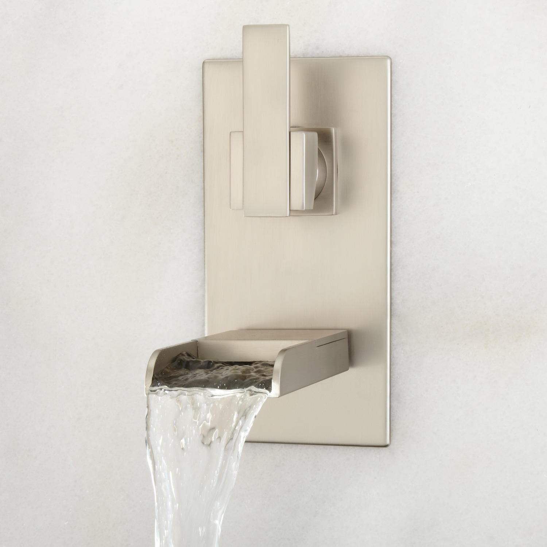 Ideas, wall mount bathtub faucet brushed nickel wall mount bathtub faucet brushed nickel willis wall mount bathroom waterfall faucet bathroom 1500 x 1500  .