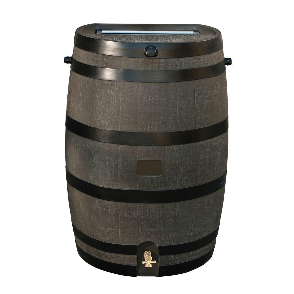 water faucet for rain barrel water faucet for rain barrel rts home accents 50 gal rain barrel with woodgrain brass spigot 1000 x 1000