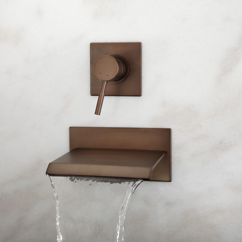 Ideas, waterfall bathroom faucet hand shower waterfall bathroom faucet with proportions 1500 x 1500  .