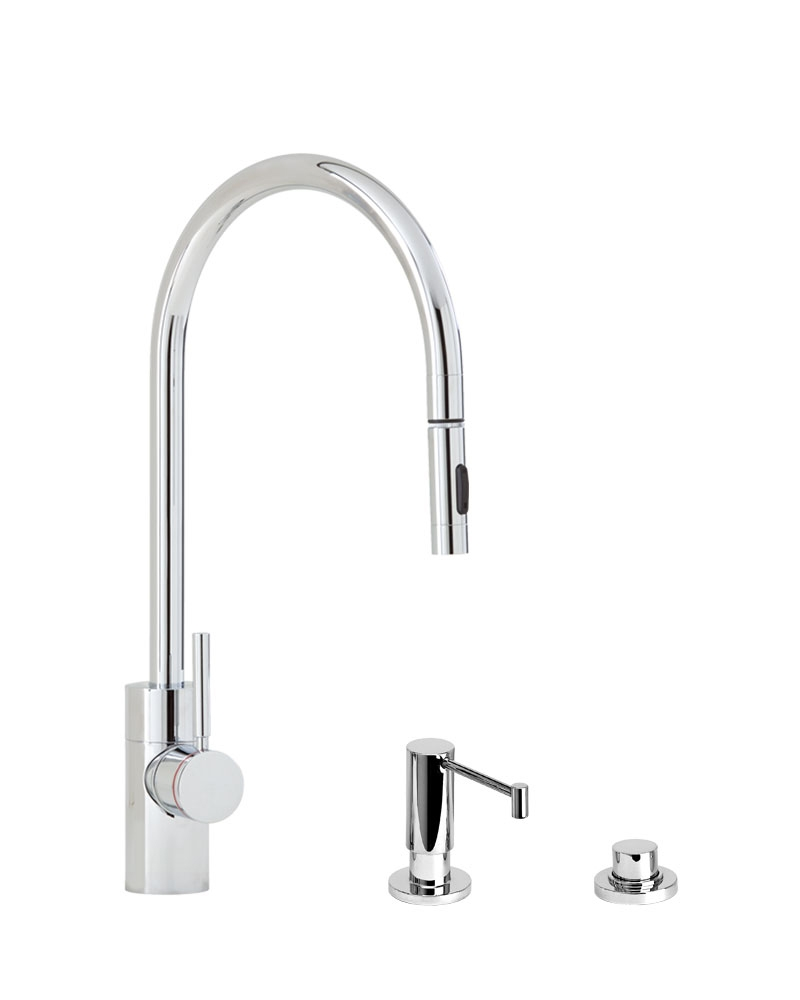 Ideas, waterstone faucets contemporary plp pull down faucet 3pc suite with regard to sizing 800 x 1000  .