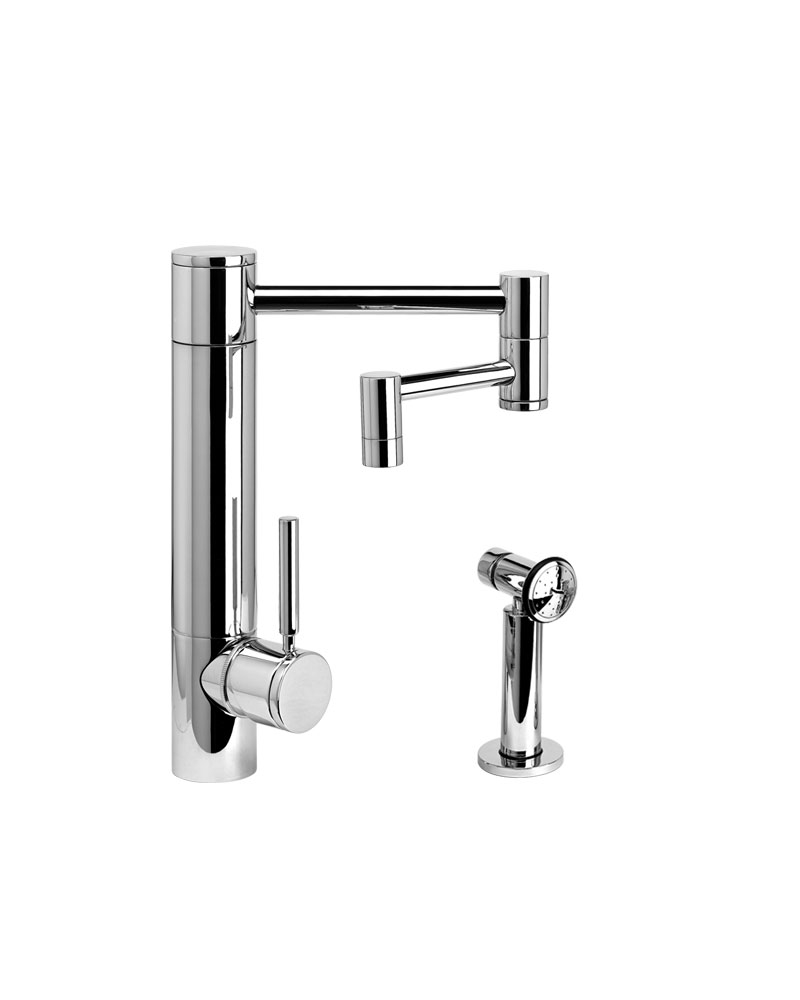 waterstone faucets hunley kitchen faucet 12 articulated spout within size 800 x 1000