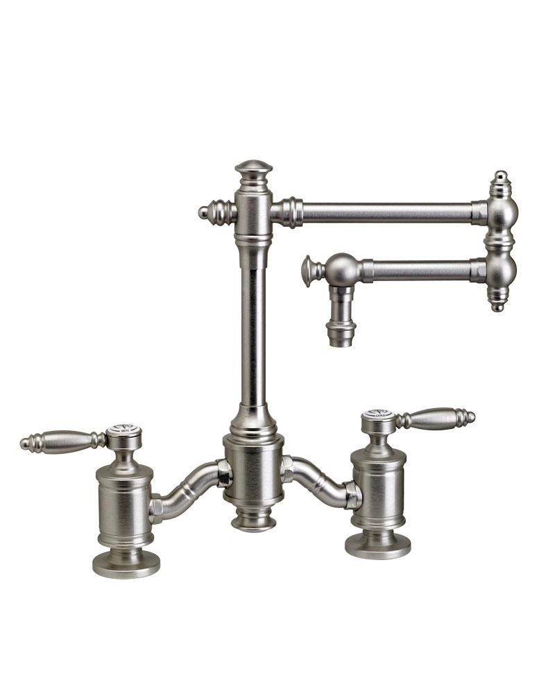 Ideas, waterstone towson bridge faucet 12 articulated spout lever inside measurements 800 x 1000  .