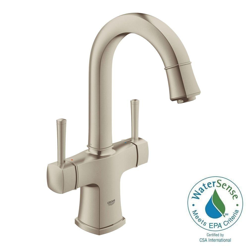 Ideas, watts 1 handle top mount air gap faucet in brushed nickel with throughout proportions 1000 x 1000  .
